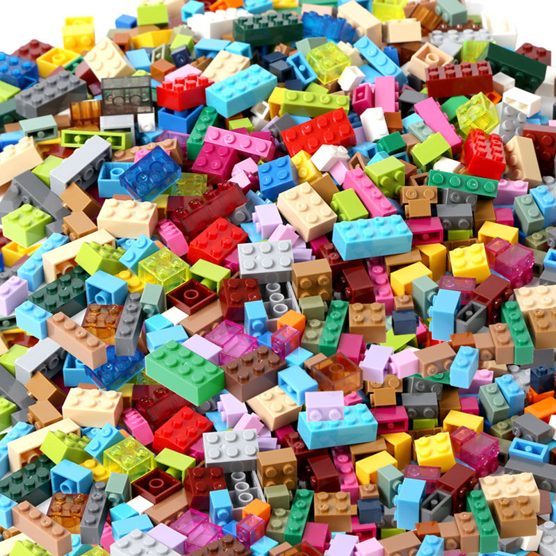 1000 Pieces Building Blocks Sets Compatible Legoes City DIY Creative Classic Bricks Creator Educational Toys For Children Gifts