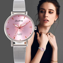 Montre femme 2020 Female wristwatch Casual Quartz Stainless Steel Band New Style Strap Watch Analog Wrist Watches Dress Bracelet