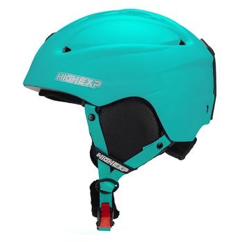High Experience Ski Helmet Women Snowboard Helmet For Men Skateboard Skiing Helmet EPS Thermal PC One-piece Shell Breathable