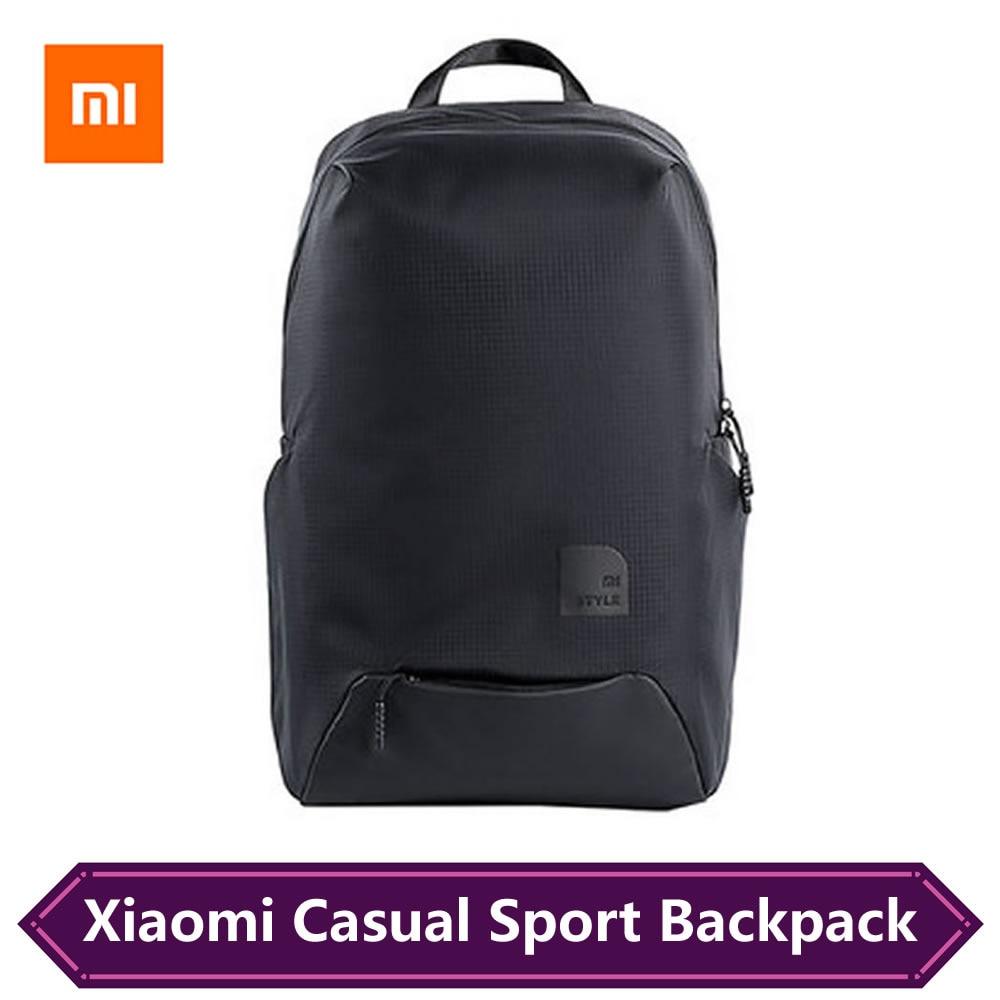 Original Xiaomi Fashion Sport Styles Bag Travel Backpack 15.6 Inch Laptop Bag 23L Big Capacity IPV4 Waterproof Mi Backpacks