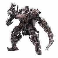 AOYI LS11 LS-11 transformacja figurka 37cm Scorn dinoboty starożytny Behemoth dinozaur Movie Model stop Abs KO deformacji