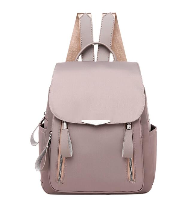 Hot 2020 Women's Backpack Solid Color Ladies Shoulder Schoolbags For Teenager Girls Travel Bags