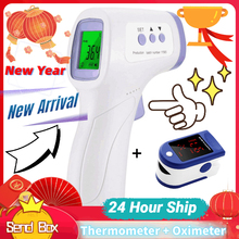 2021 Non-contact Infrared Thermometer Handheld Infrared Thermometer High Precision Measures Body Temperature 24 Hour Ship Within