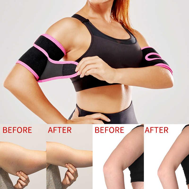 Sweat Sauna Belt Arm Trimmer Shaper Fat Burner Body Cellulite Slimming Band