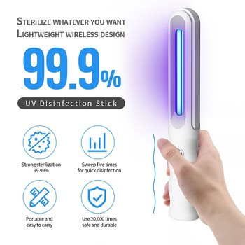 Handheld UV Portable Sterilization Lamp Household Disinfection Stick Lamp Ultraviolet Ultra Violet Light Led UV Tube 1
