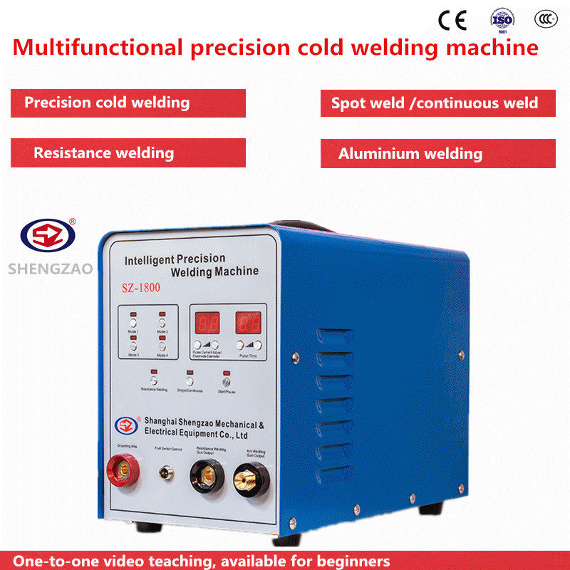 AC DC Repair Spot Cold Welding Machine Resistance Welding Placement Machine 0.2-4mm Thickness Welding High Quality Tig Welder