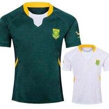 Южная Африка RWC регби Джерси домашние Джерси размер S-3XL