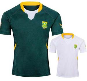 2019 SOUTH AFRICA RWC RUGBY JERSEY HOME AWAY JERSEY size S-3XL