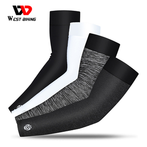 WEST BIKING Sports Arm Sleeves Ice Fabri