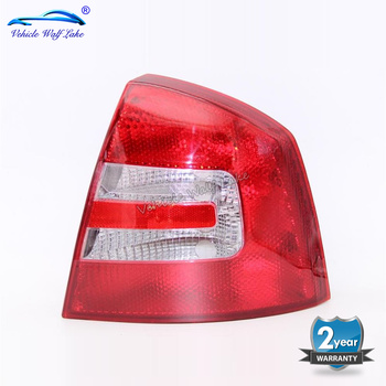 Right Side For Skoda Octavia A5 MK2 Sedan & Combi 2004 2005 2006 2007 2008 Car-styling Rear Tail Light Lamp Without Bulbs
