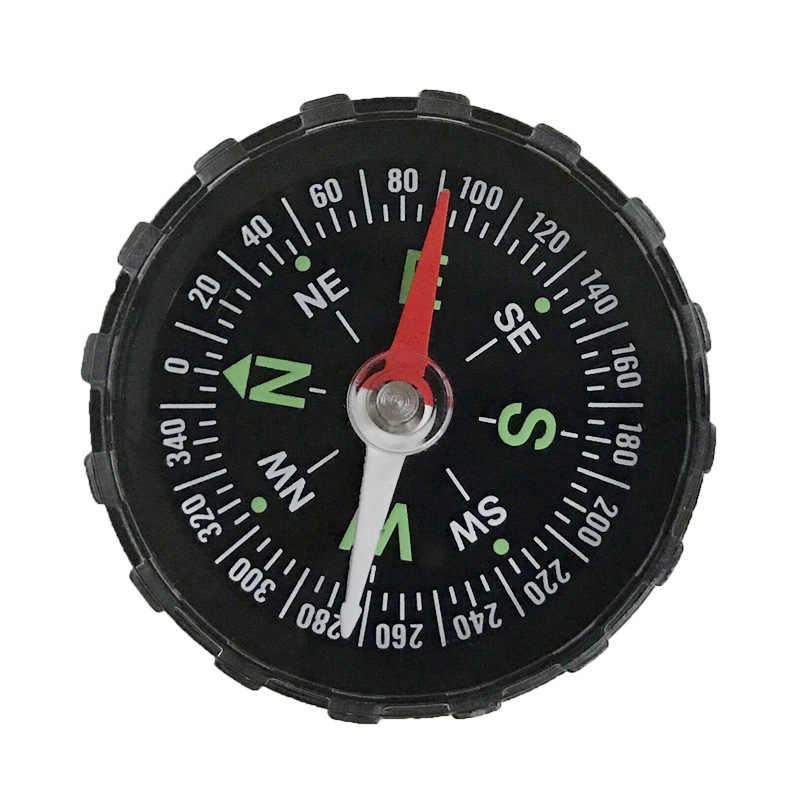 1 Pc Portatile Mini Precisa Bussola Pratico Guider per Il Campeggio Trekking Nord di Navigazione Disegno Del Tasto di Sopravvivenza Bussola