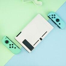 Nintend Công Tắc Ốp Lưng Động Vật Vượt Qua Vỏ Cứng PC Bao Vỏ Joy Con Bộ Điều Khiển Full Nhà Ở Cho Nintendo Switch Phụ Kiện