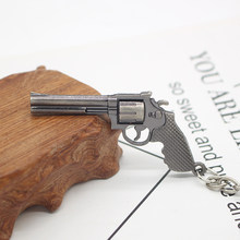 2019new Hot Game Weapon 3D Simulation Gun Keychain Cool Men Pistol Airsoft Guns Keychains For Car Men Keys Jewelry Chaveiros(China)