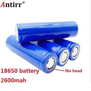 Antirr Оригинальная 18650 перезаряжаемая батарея 2600mAh 3, 7 V литий-ионная литиевая батарея ICR18650-26F безопасные батареи промышленного использования