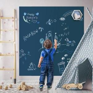 Image 1 - 磁気diy黒板描画ボードチョークペン子供絵画落書き教育おもちゃ子供の誕生日ギフト