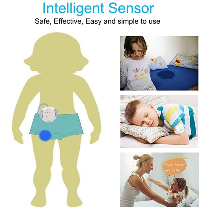 Bedwetting Alarm for Kids-Potty Training Nocturnal Enuresis Alarm for Deep Sleepers