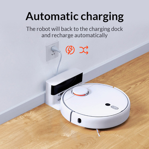 Image 4 - Original Xiaomi Mi Robot Vacuum Cleaner 1S for Home Automatic Sweeping Charge Smart Planned WIFI APP Remote Control Dust Cleaner