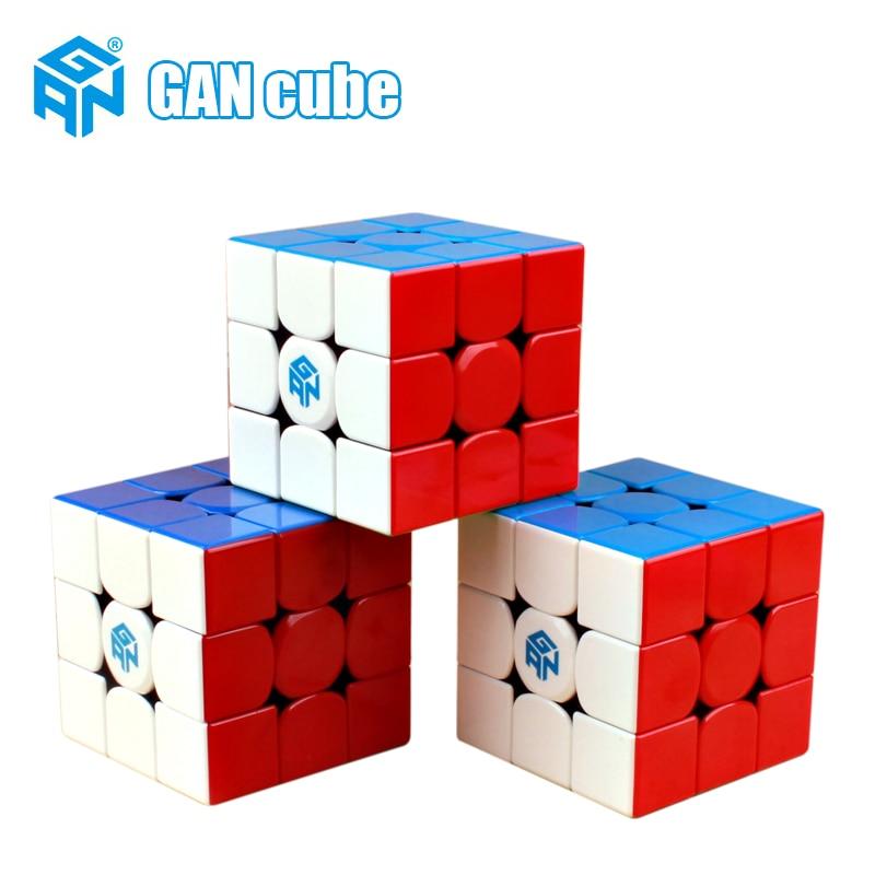 GAN356 X 3x3x3 Magic Magnetic Speed Cube Professional Gans Puzzle Gan354 M Magnets 3x3 Cube Gan 356 RS