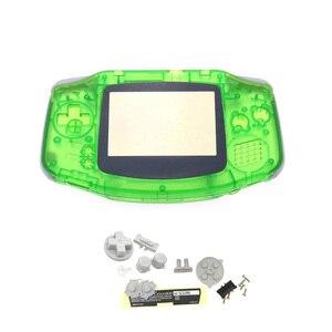 Image 5 - ใหม่เปลือกสำหรับNintendo Gameboy GBA SHELL Hard Caseเปลี่ยนเลนส์หน้าจอสำหรับGameboy ADVANCEคอนโซลที่อยู่อาศัย