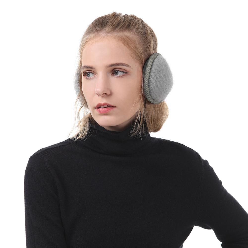 New Arrival Womens Mens Winter Outdoors Warmers Ear Bags Earmuffs Men Women Adjustable Earwarmers Outdoor Soft Simple Earmuff