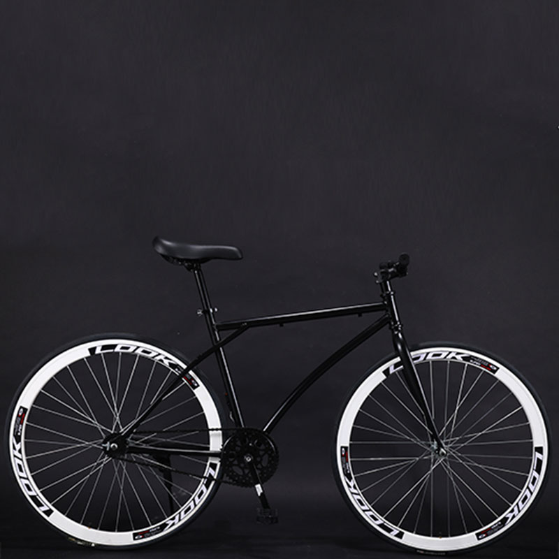 Bicycle Road Bike Fixed Gear Adult Men And Women Models Racing Solid Tire Single Speed Students New Cool