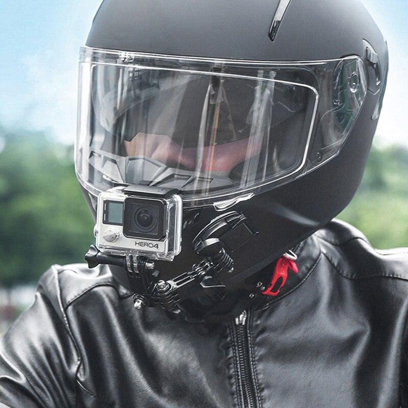 Кронштейн для мотоциклетной камеры на шлем, держатель для Ycf Z900 Z750 Burgman 400 Versys 1000 V Строма, аксессуары для мотокросса
