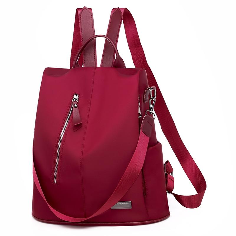 Women Backpack Oxford Female Backpacks Anti Theft Multifunction Shoulder Bag For Teenagers Waterproof Travel School Casual Bags