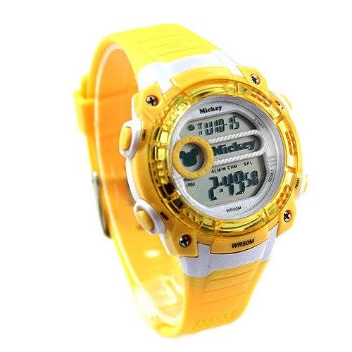 Disney Original +Дети 27 лет часы водонепроницаемый светодиодный мальчик 27 лет Микки износостойкий электронный часы 3 лет и старше день рождения подарок
