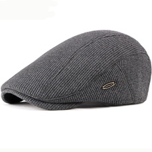 HT2646 Beret Cap New Autumn Winter Hat Caps for Men Women Adjustable Ivy Newsboy