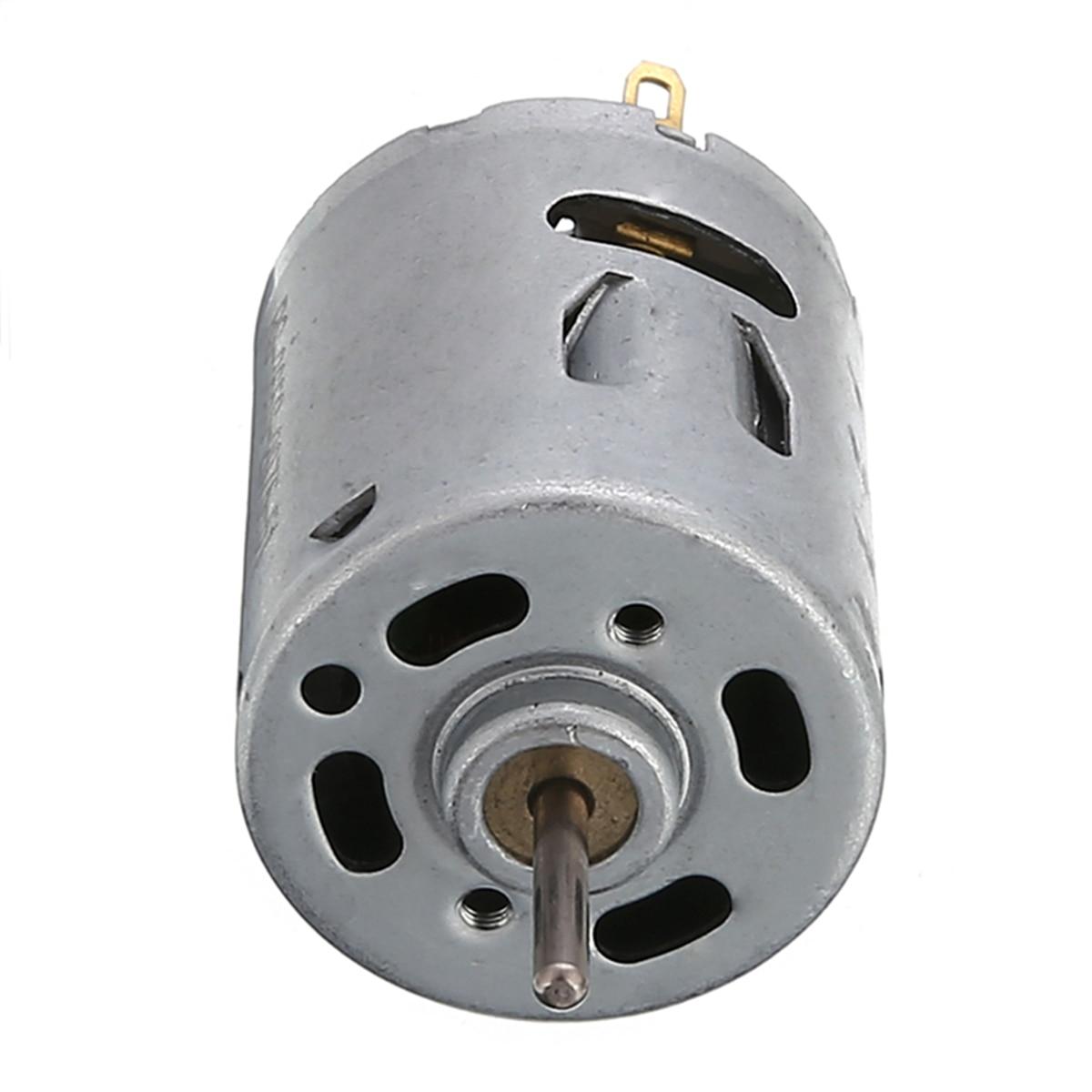5000RPM DC 6-12V Motor Hobby Mini DC Motor 365 Low Noise For DIY Small Electric Drill Motor DC Motor Diameter 27.5mm