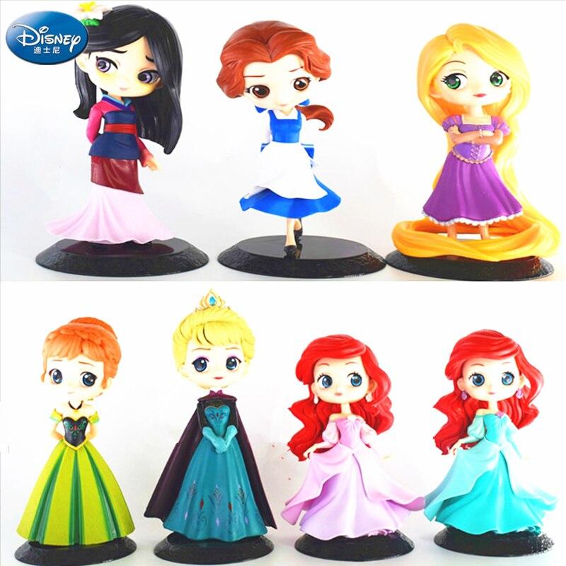 Disney The Mermaid princess big eye PVC figure figures doll toy dolls new