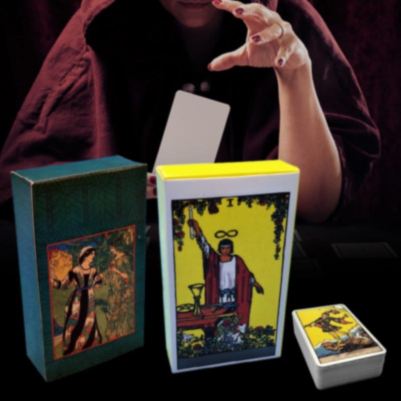 MUMIAN 2019 карточные карты Таро с красивой сумкой для divination личного использования колода карт Таро полная английская версия-in Уличные инструменты from Спорт и развлечения