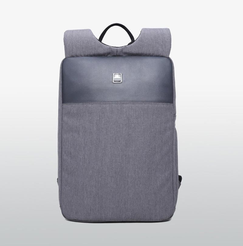 Lightweight Thin Computer Backpack High-grade Simple Shoulder Bag Male Notebook 14/15 Inch Business Casual Water-proof Bag