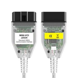 Image 2 - Ultime V13.00.022 MINI VCI Interfaccia Fit Per TOYOTA TIS Techstream J2534 OBD2 OBD Diagnostico Collegare Il Cavo 22PIN per 16PIN