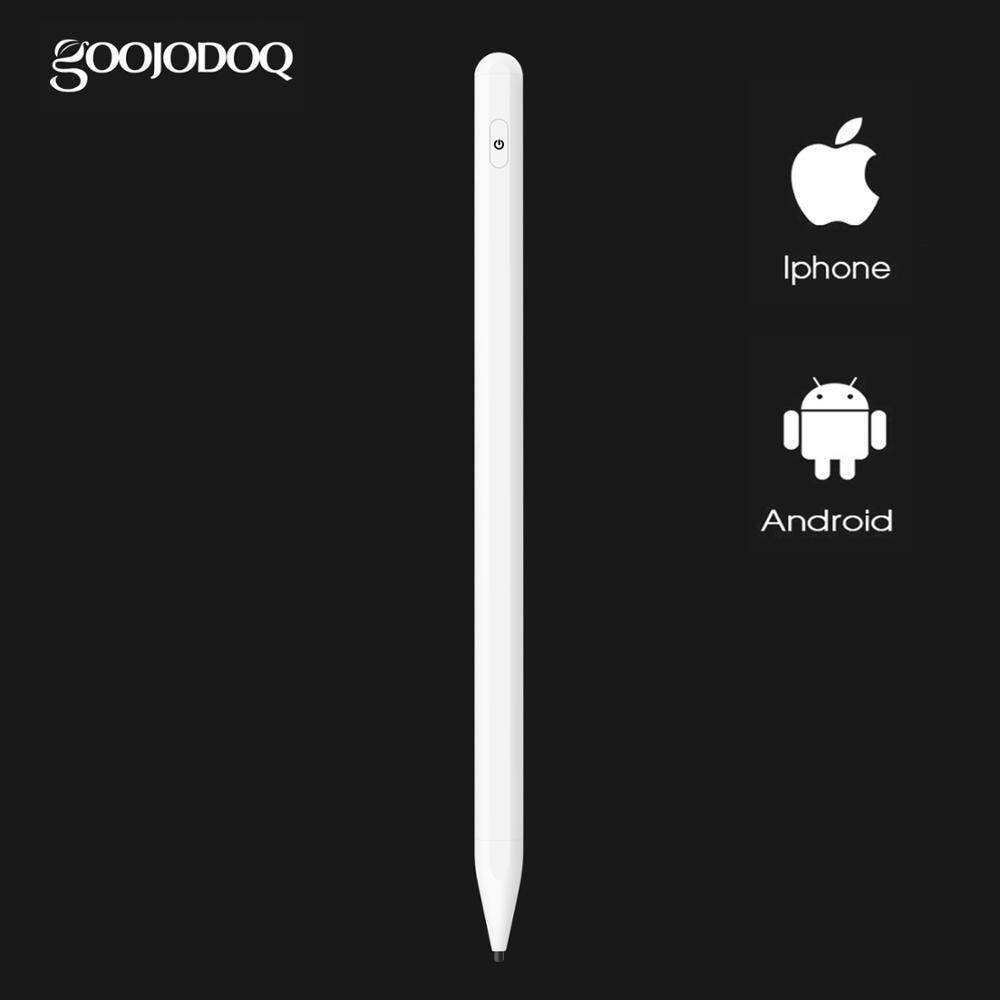 GOOJODOQ for Apple pencil 1 2 Universal Stylus Pen Pencil for iPad 2018 Air 2 iPad Pro 11 12.9 Pencil Tablet Pen IOS Android