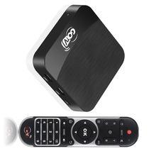 ТВ приставка amlogic s905x h265 4k hd игровая ip android tv