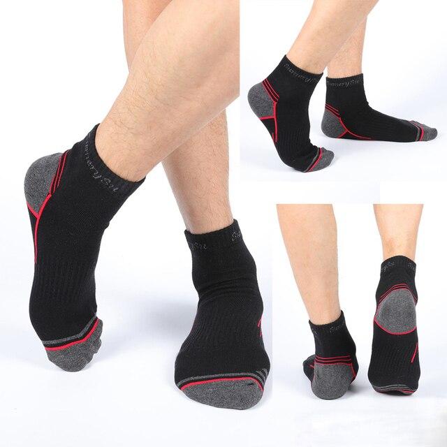 Мужские носки спортивные,хлопок дышащие с материалом против пота 3