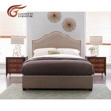 Мебель для спальни, набор современных картин, деревянная двуспальная кровать, прикроватные тумбочки и ТВ шкаф для спальни WA396