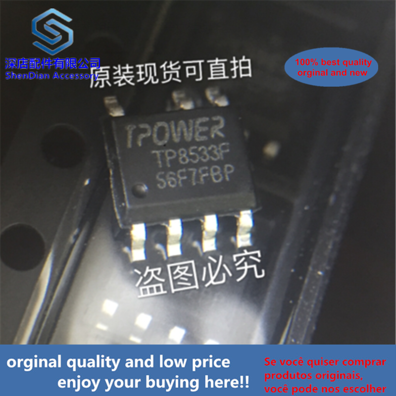 10pcs 100% Orginal And New TP8533F SOP7 TPOWER TP8533F-V1.6(A) Best Qualtiy