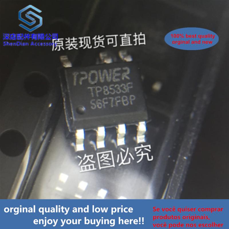 10pcs 100% Orginal And New TP8533F SOP7 TPOWER TP8533F-V1.6(A) Best Qualtiy