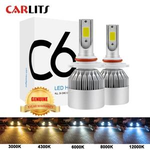Image 1 - Lâmpadas led para luzes de carro, recém chegadas h4 h7 9003 hb2 h11 led h1 h3 h8 h9 880 9005 9006 h13 faróis automotivos, 9004 9007, 12v