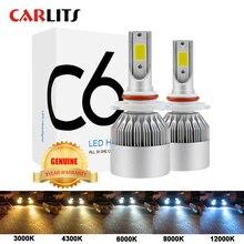 חדש כניסות רכב אורות נורות LED H4 H7 9003 HB2 H11 LED H1 H3 H8 H9 880 9005 9006 H13 9004 9007 פנסי רכב 12V Led אור