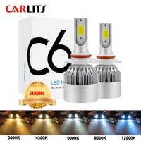 NOUVEAUX Arrivants Voiture Lumières Ampoules LED H4 H7 9003 HB2 H11 LED H1 H3 H8 H9 880 9005 9006 H13 9004 9007 Phares automatiques 12V lumière LED