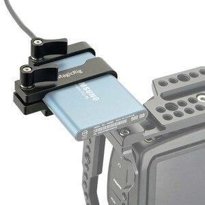 Image 5 - MAGICRIG הר עבור Samsung T5 SSD כרטיס מהדק עם USB C כבל מהדק תואם עם MAGICRIG מצלמה כלוב עבור BMPCC 4K/6K מצלמה