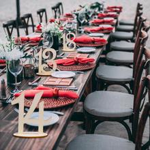 10 шт. деревянное имя место номер орнамент для открытки ремесло для свадьбы украшение домашнего стола тонкая картонная упаковка для семьи или фестивалей