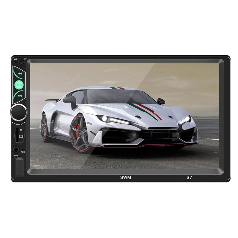 SWM-S7 7 Inch HD Touc-h Big Screen Car BT MP5 Player Car MP3 Card Machine FM With CD Player DVD 50AUG1227
