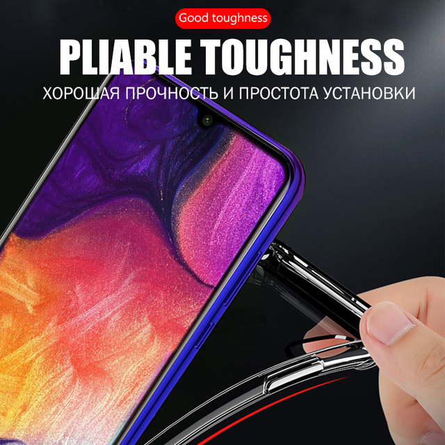 Clear Shockproof Case For Samsung Galaxy S21 S20 fe Plus Note 20 Ultra A21S A12 A31 A52 A72 A51 A71 A70 A50 S8 S9 S10 Plus Cover 4