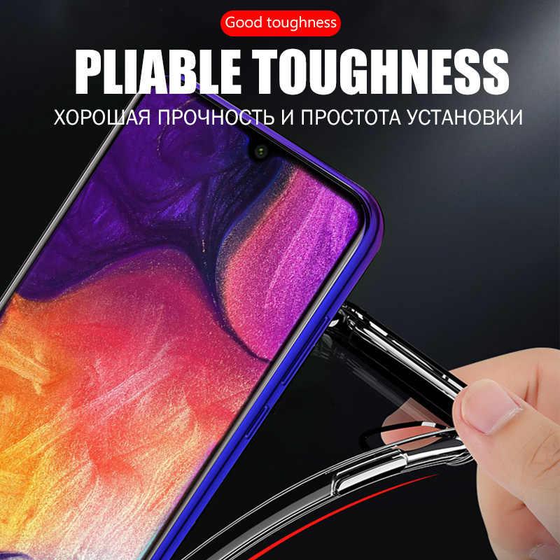 Transparent de luxe Étui de coque telephone Antichoc case Pour Samsung Galaxy A51 A71 A50 A70 A10 A30 S8 S9 S10 Lite S20 Note 20 Ultra 8 9 10 Plus Couverture pochette telephone portable tasje cover