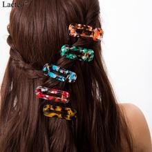 Lacteo Sweet Colorful Acetate Hair Cilps for Women Statement 2019 Fashion Pins Female Accessories Jewelry Birthday Gifts
