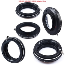 Foleto Camera Lens Adapter Ring LM NEX M4/3 N1 FX Voor Leica M lens naar sony e MOUNT M4 /3 N1 panasonic micro m4/3 fujifil FX Xt3 x